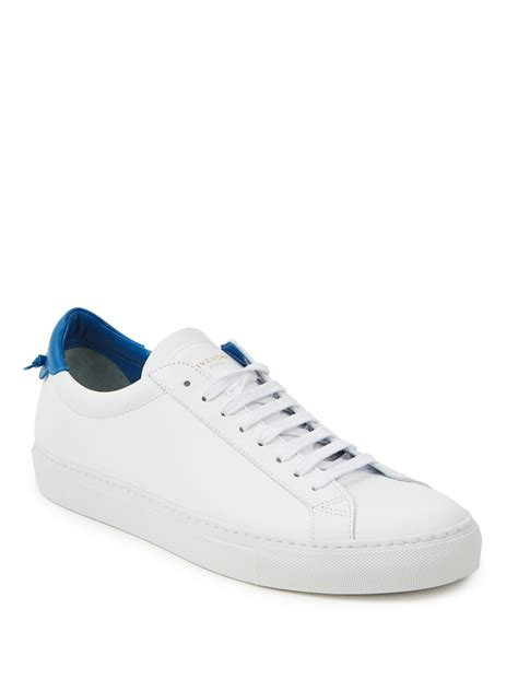 givenchy sneakers givenchy knots low lace up sneakers in white lyst