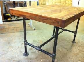 industrial kitchen table furniture reclaimed industrial kitchen island dining table featuring