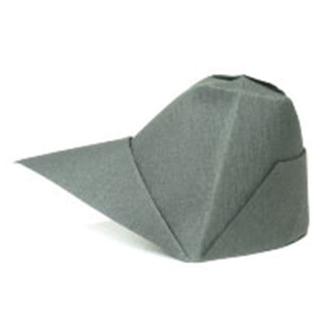 Cap Origami - how to make origami hat
