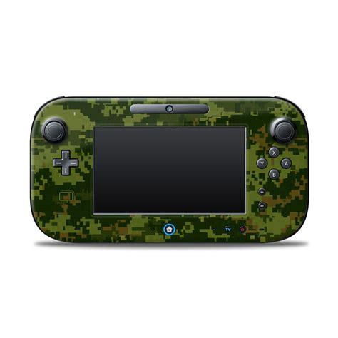 Project Design Cover For Nintendo Wii U Gamepad cad camo nintendo wii u controller skin istyles