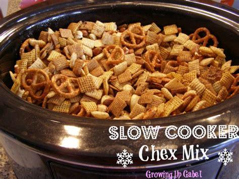 mix recipes cooker chex mix