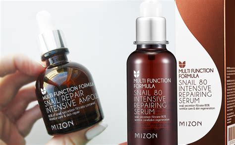Serum Korea new mizon snail 80 intensive repairing serum korean skin