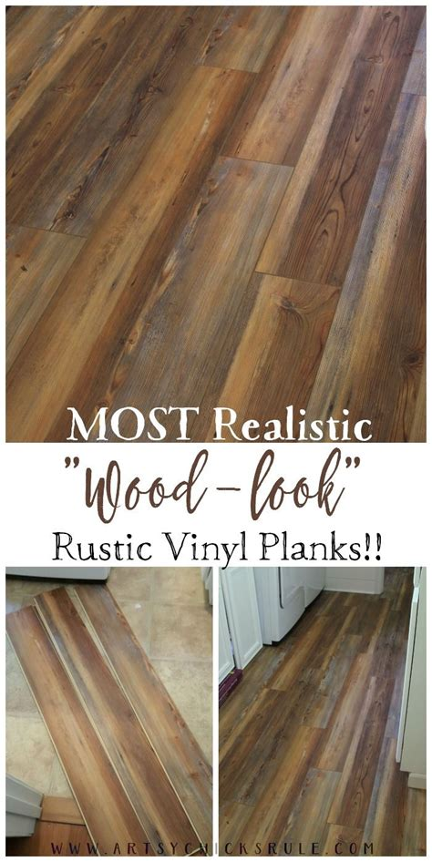 Farmhouse Vinyl Plank Flooring (One Room Challenge, Week 5