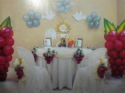 decoraciones de primera comunion en globos buscar con pasteles decoracion para primera comunion buscar con decoracion de mesas para celebraciones