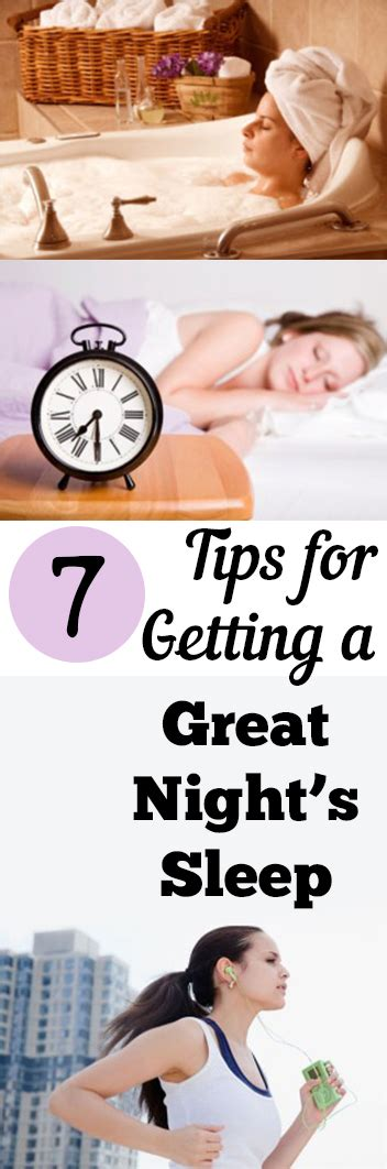 7 Tips On Getting by 7 Tips For Getting Great Sleep Page 2 Of 7 My List Of