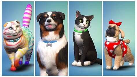 cats and dogs sims 4 cats dogs take the sims 4 in new pet friendly expansion nerdist