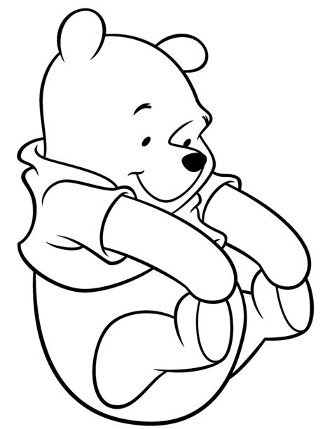 cutest winnie pooh coloring amp coloring pages