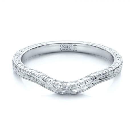 custom engraved wedding band 102047
