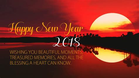 2018 have a blessed newyear happy new year 2018 wallpaper for mobile whatsapp laptop
