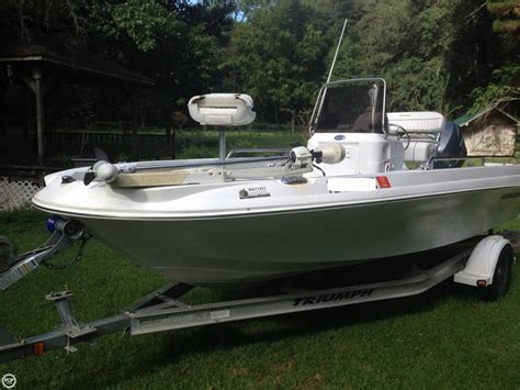 triumph boats 190 bay boats for sale boats - Triumph Boats 190 Bay For Sale