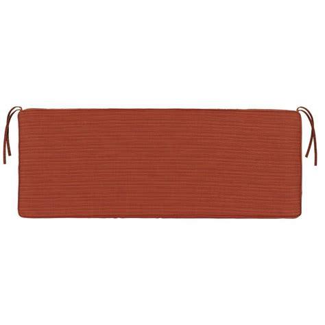 sunbrella bench cushions outdoor home decorators collection sunbrella heather beige outdoor