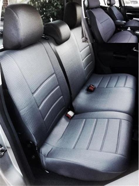 vw amarok diamond front rear custom car seat covers