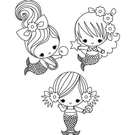 easy mermaid coloring page 30 stunning mermaid coloring pages