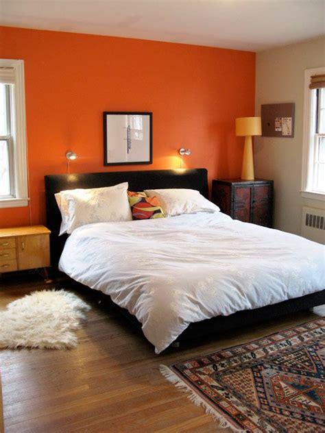 light orange bedroom walls best 25 orange accent walls ideas on orange