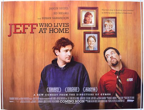 jeff who lives at home original cinema poster
