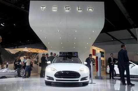 Tesla Detroit Auto Show How Many Tesla Model S Electric Cars Been Built So Far