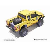 New Rally Truck Paper Model 4&2154 Service Valkenburg