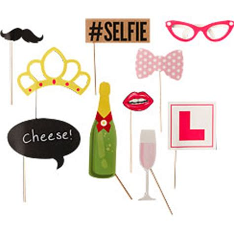hens night photo booth props printable hen party accessories party delights