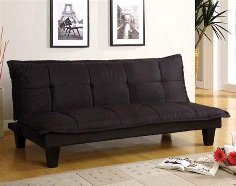 black wood futon frame black wood frame tufted detail margo futon american