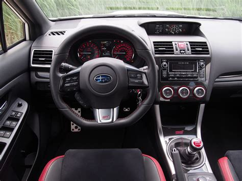 subaru wrx interior review 2015 subaru wrx sti canadian auto review