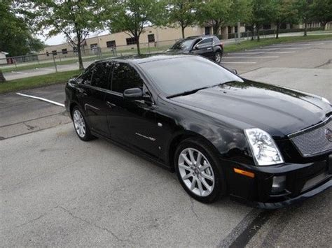 automobile air conditioning service 2006 cadillac sts v regenerative braking purchase used 2006 cadillac sts v 469hp 4 4l supercharged in cranberry township pennsylvania