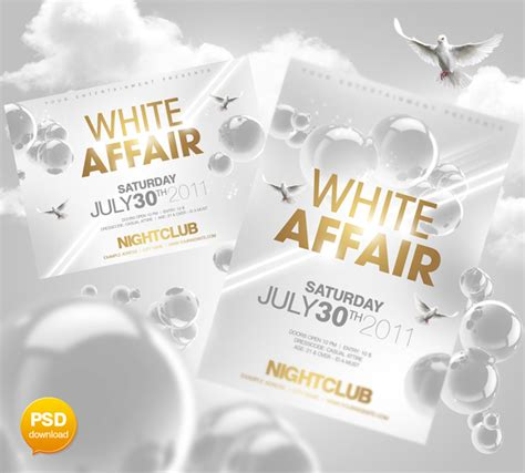 free all white flyer template 20 all white flyer template psd images all white flyer templates white