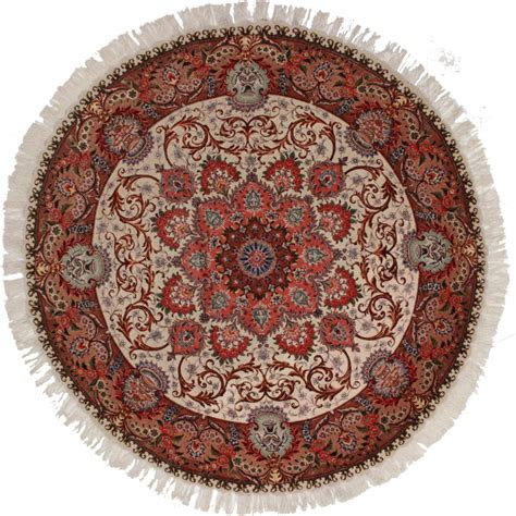 Circular Rugs For Sale by Tabriz Rug 11274 Exclusive Rugs
