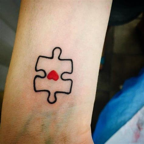 autism puzzle piece tattoo designs puzzle tattoos ideas pieces