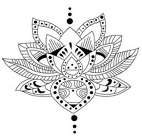 fleur de lotus mandala coloriagetv adult coloring pages tattoos