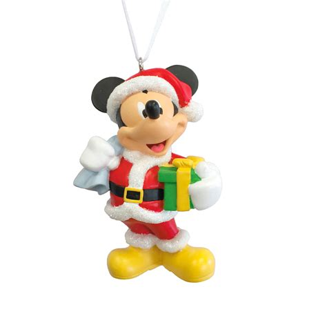 hallmark disney mickey mouse as santa claus christmas