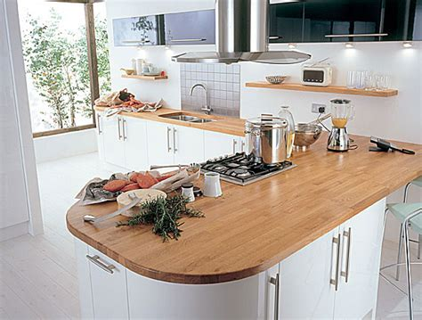 ideas for kitchen worktops kitchens solid wood worktops painted wood modern styles