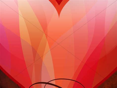 Heart Shape Worship Background   Worship Backgrounds