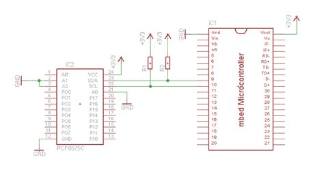 pcf ic io expander cookbook mbed
