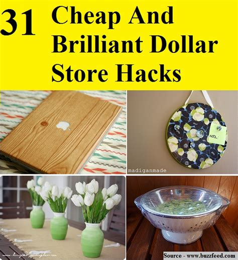 dollar store hacks 31 cheap and brilliant dollar store hacks home and tips