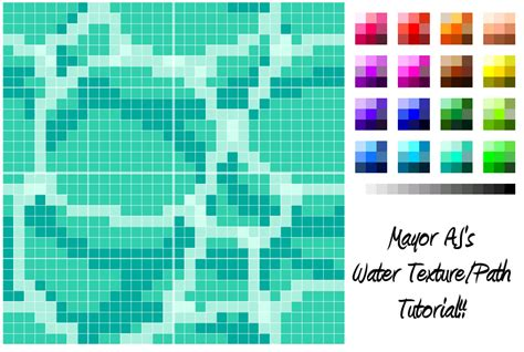 tutorial design acnl acnl water texture tutorial 1 nl outfit qr s