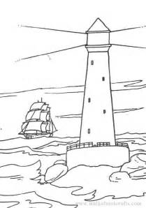 lighthouse coloring page lighthouses colouring pages