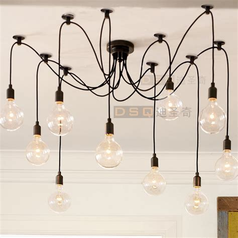 Dining Room Lights With Edison Bulbs Edison Chandelier Classic Vintage Ancient Light Living