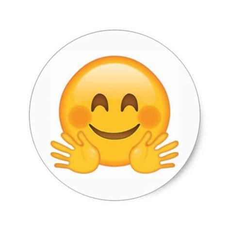emoji yay yay hugs smiley emoji planner stickers 1 sheet
