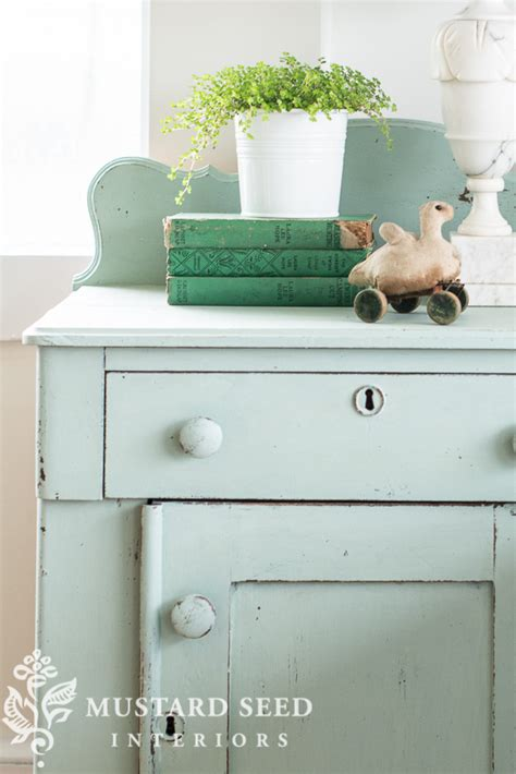 bespoke color vintage blue green miss mustard seeds milk paint