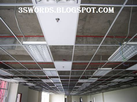 suspended ceiling installation sequence