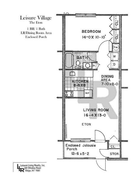 leisure village floor plans greenbriar 1