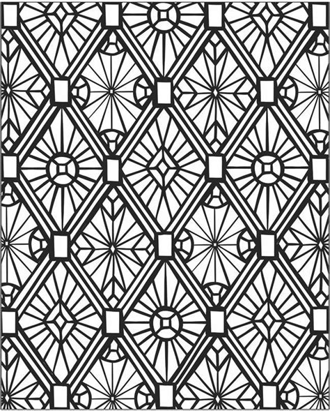 Mosaic Patterns Coloring Pages Coloring Home Coloring Pages Patterns