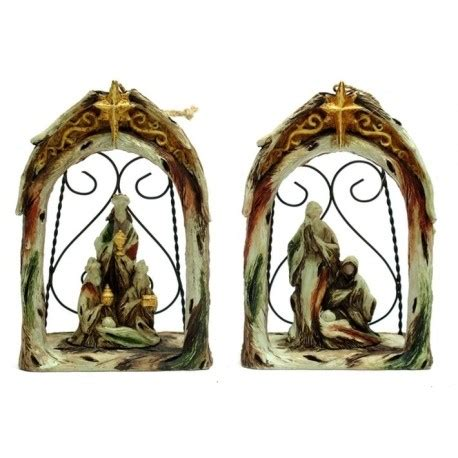 nativity ornament set of 2 db decorate
