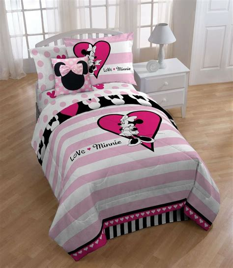 Minnie Mouse Bedding by Disney Minnie Mouse Comforter Set Ebay