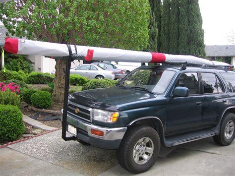 96 toyota 4runner 96 toyota 4runner hang glider rack and 2m radio installation