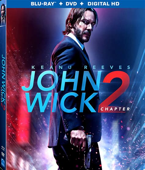 new movie releases john wick chapter 2 2017 john wick chapter 2 blu ray details revealed
