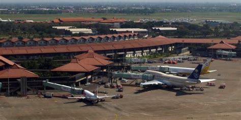 bandara tersibuk  indonesia merdekacom