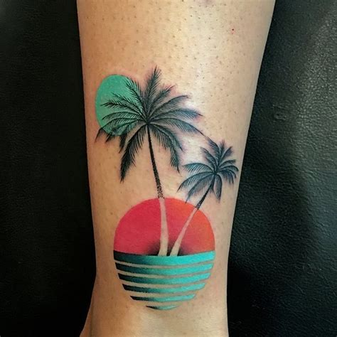 tropical beach tattoo designs abstract tropical design tattoos