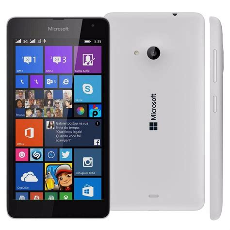Microsoft Lumia 535 celular microsoft lumia 535 windows phone tela 5 novo r 399 90 em mercado livre