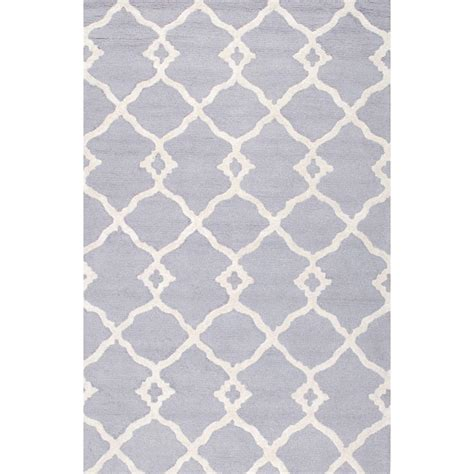 Baby Blue Rug by Nuloom Gabriela Baby Blue 5 Ft X 8 Ft Area Rug Bhbc55d